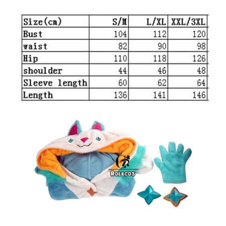 ROLECOS Game LOL Ezreal Cosplay Costume Pajama Star Guardian Ezreal Pajama Cosplay Costume for Men Jumpsuits Full Set 1