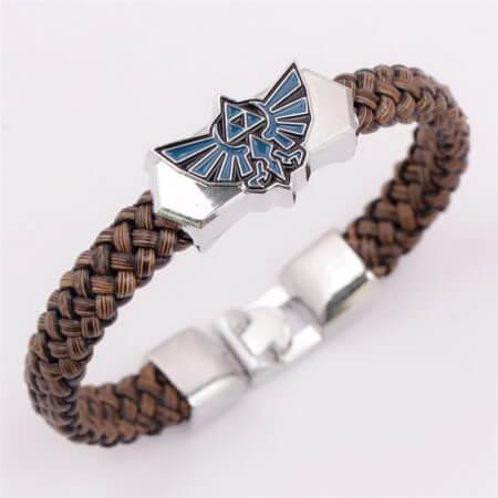 Anime The Legend of Zelda Knit Bracelet Cosplay Costumes Accessories Props Black Punk Fashion Bracelets