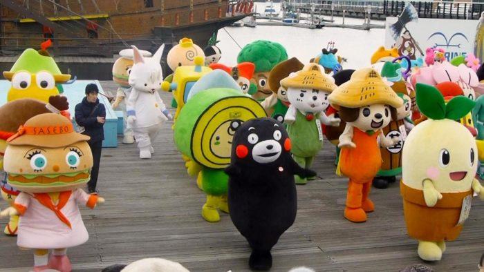Mascot  in Japan