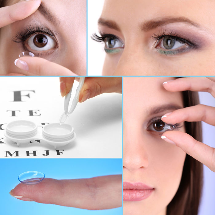 contact lenses - handling tips