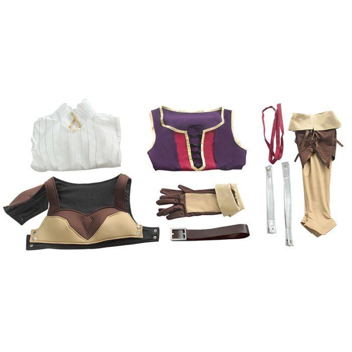 ROLECOS Anime Tate no Yuusha no Nariagari Cosplay Costumes Raphtalia Costume for Women Cosplay Costume Full Sets 4