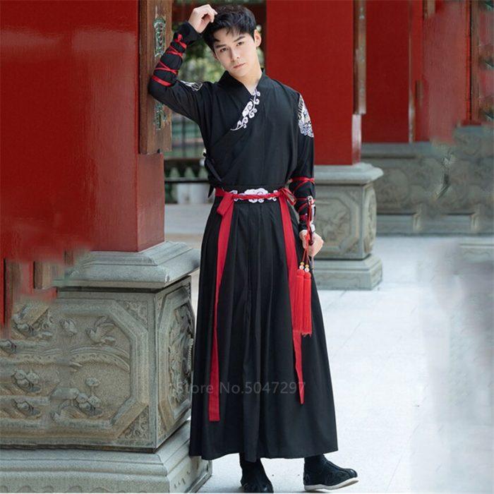 Japanese Style Kimono Men Samurai Costume Yukata Tradtional Costume Vintage Party Haori Plus Size Fashion Women Dress Asian 3