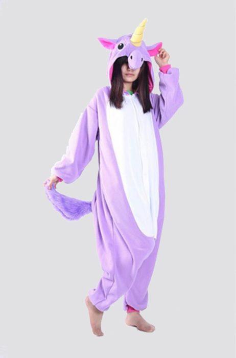New Winter Women Men Unisex Adult Cute Cartoon Onesie Animal Pajamas unicornio Unicorn Stitch Kigurumi Flannel Nightie Sleepwear 20