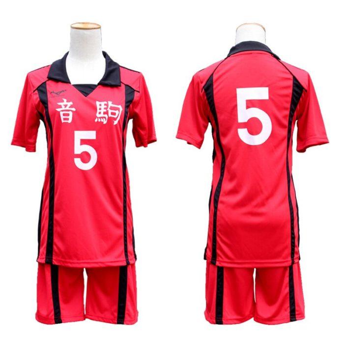 KIGUCOS 9 Styles Hot Anime Karasuno High School Sportwear Haikyuu!! Hinata Shyouy Cosplay Costumes Outfit Jerseys Uniform 3