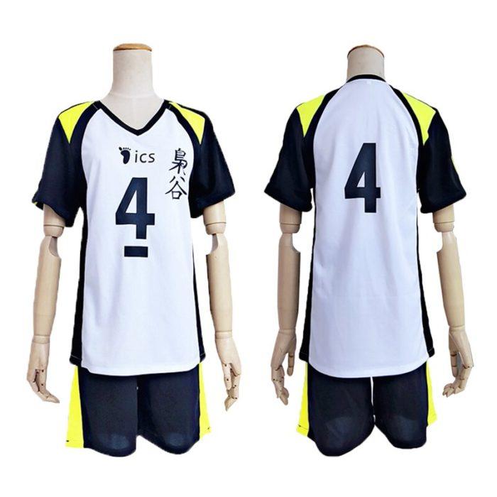 KIGUCOS 9 Styles Hot Anime Karasuno High School Sportwear Haikyuu!! Hinata Shyouy Cosplay Costumes Outfit Jerseys Uniform 4