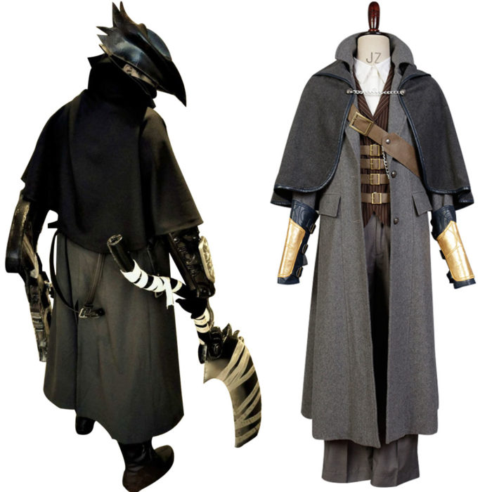 Cospaly Bloodborne Outfit Whole Sets Cosplay Costume Custom Made Fashion Uniform Halloween Carnival Costume 1