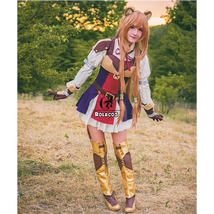 ROLECOS Anime Tate no Yuusha no Nariagari Cosplay Costumes Raphtalia Costume for Women Cosplay Costume Full Sets 2