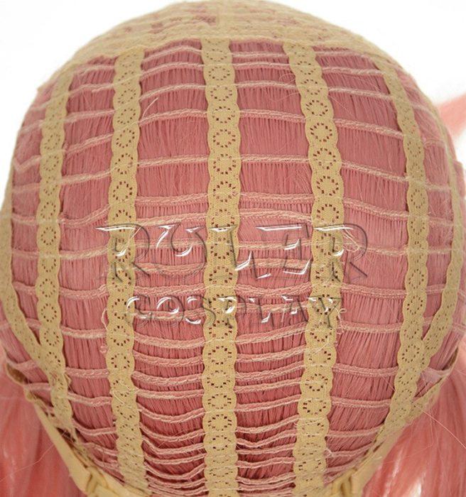 36'' 90cm Long Pink Yuno Gasai Wig The Future Diary Mirai Nikki Yuno Heat Resistant Hair Cosplay Costume Wigs + Wig Cap 5