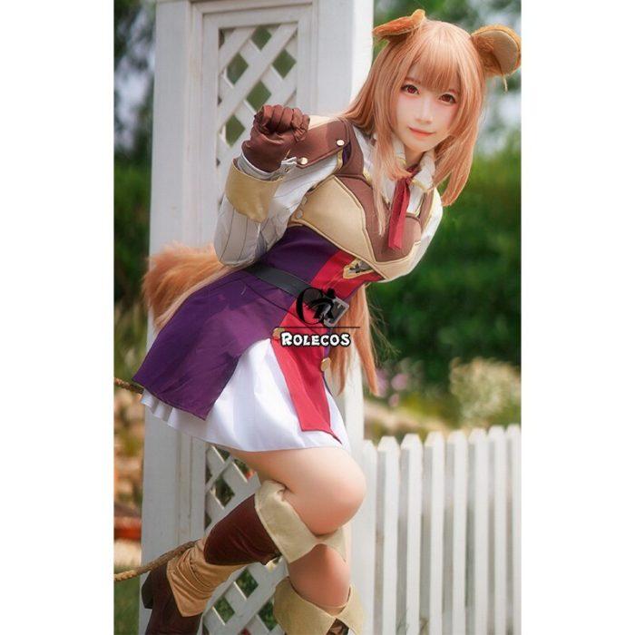 ROLECOS Anime Tate no Yuusha no Nariagari Cosplay Costumes Raphtalia Costume for Women Cosplay Costume Full Sets 3