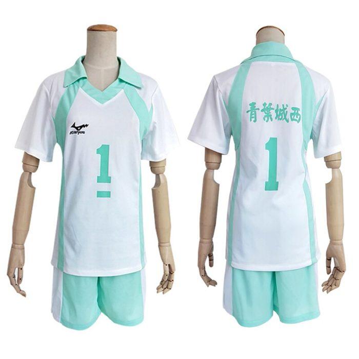 KIGUCOS 9 Styles Hot Anime Karasuno High School Sportwear Haikyuu!! Hinata Shyouy Cosplay Costumes Outfit Jerseys Uniform 2