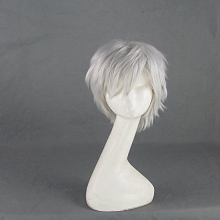 Jack Frost Rise of the Guardians Silver Grey Short Cosplay Wig 1