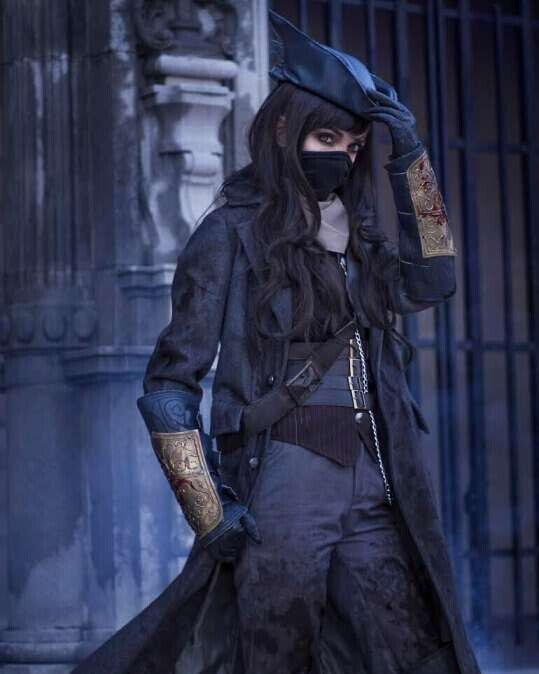 Cospaly Bloodborne Outfit Whole Sets Cosplay Costume Custom Made Fashion Uniform Halloween Carnival Costume 6