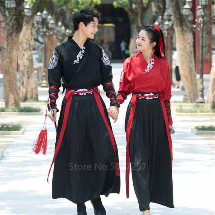 Japanese Style Kimono Men Samurai Costume Yukata Tradtional Costume Vintage Party Haori Plus Size Fashion Women Dress Asian 6