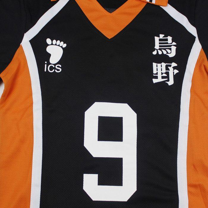 KIGUCOS 9 Styles Hot Anime Karasuno High School Sportwear Haikyuu!! Hinata Shyouy Cosplay Costumes Outfit Jerseys Uniform 5