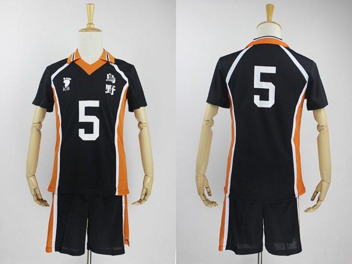 KIGUCOS 9 Styles Hot Anime Karasuno High School Sportwear Haikyuu!! Hinata Shyouy Cosplay Costumes Outfit Jerseys Uniform 14