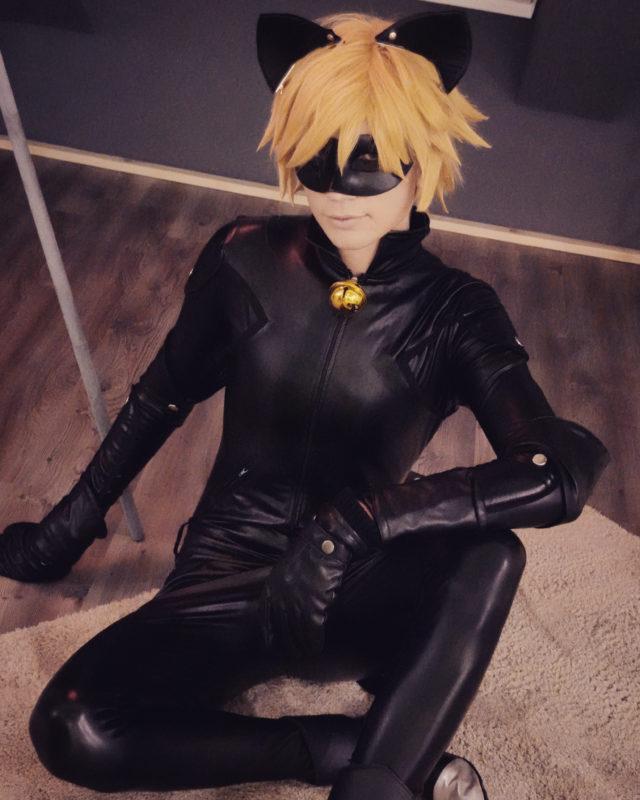 Chat Noir Cosplay SnowDragon