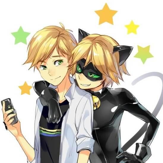 Adrien alias Chat Noir