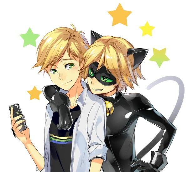 Adrien alias Chat Noir