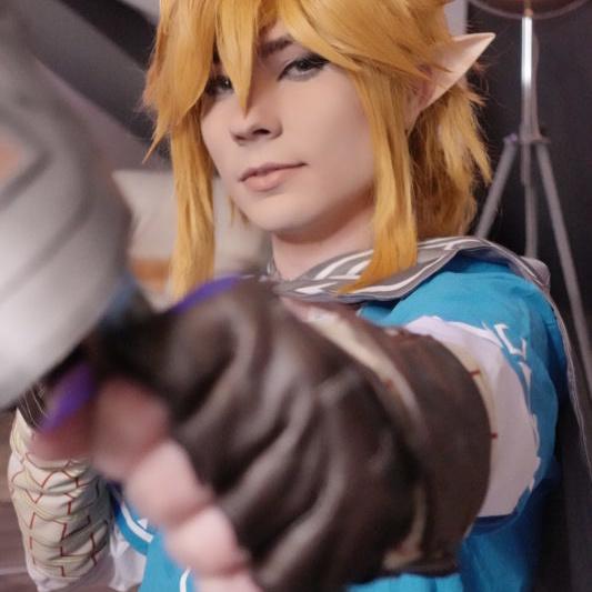 Zelda Link Cosplay SnowDragon