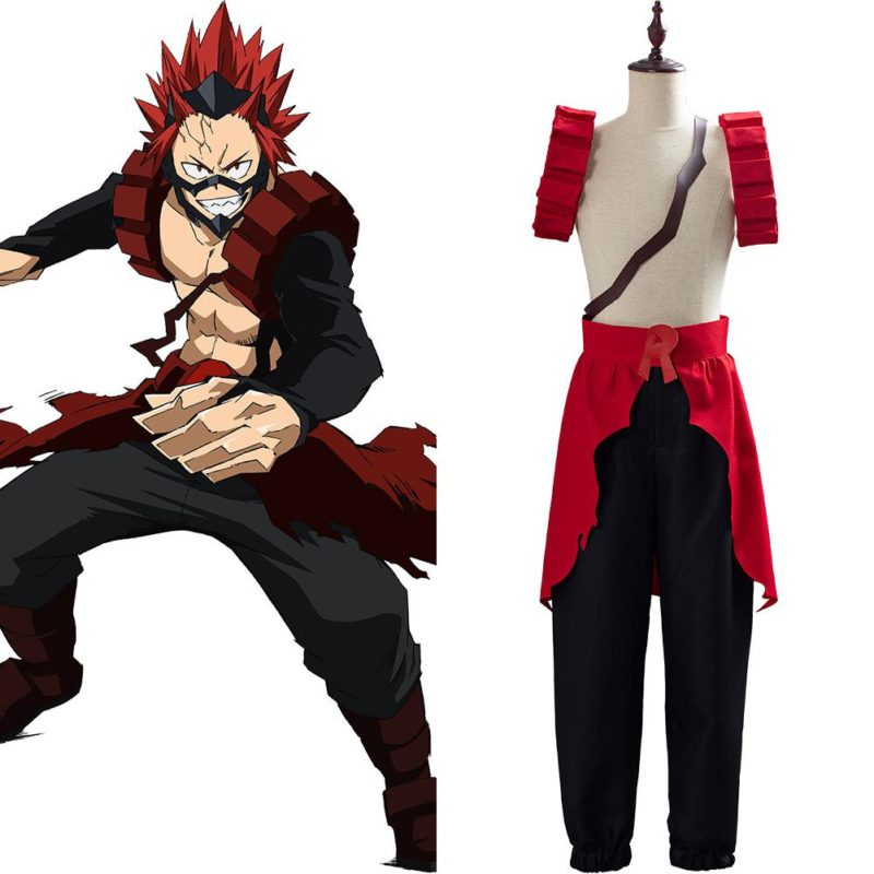 Eijiro Kirishima Cosplay Costume