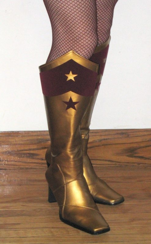 Now color, paint, decorate  to Make your own Cosplay Boots