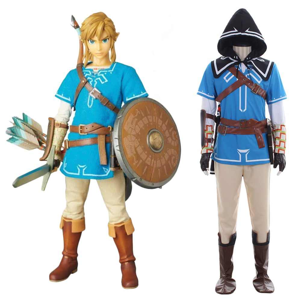 Zelda Breath Costume