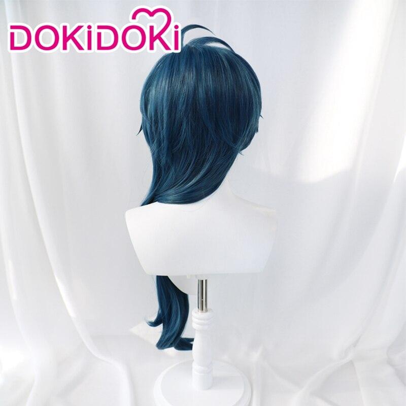 DokiDoki Game Genshin Impact Cosplay Halloween Kaeya Cosplay Wig Genshin Impact Kaeya Cosplay Hair 3