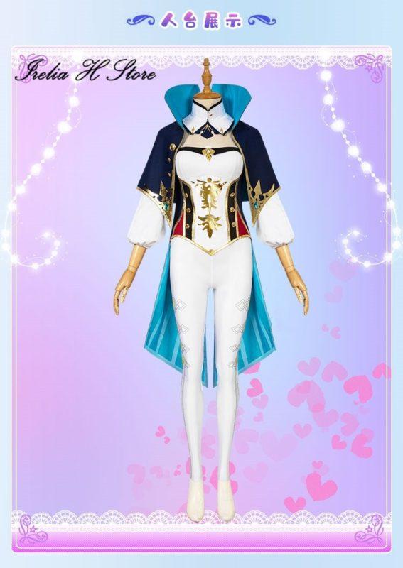 Game Genshin Impact Jean Cosplay Costume 4