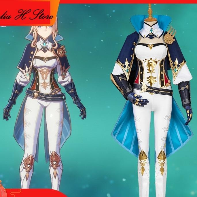 Game Genshin Impact Jean Cosplay Costume 1