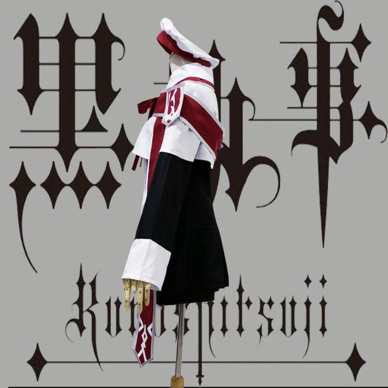 VEVEFHUANG Anime Black Butler Ciel Phantomhive Cosplay Costume choirboy cartoon Clothing Black Butler Ciel Phantomhive Church Ch 3