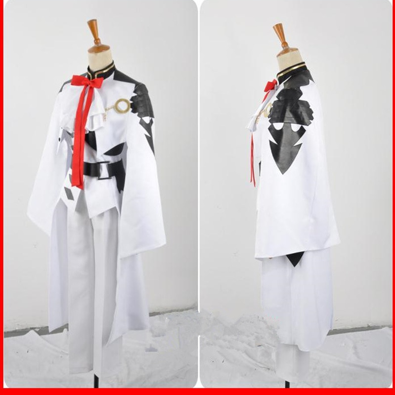 Owari no Seraph Seraph of the end Ferid Bathory Uniform Outfit Anime Cosplay Costumes with Ears 4