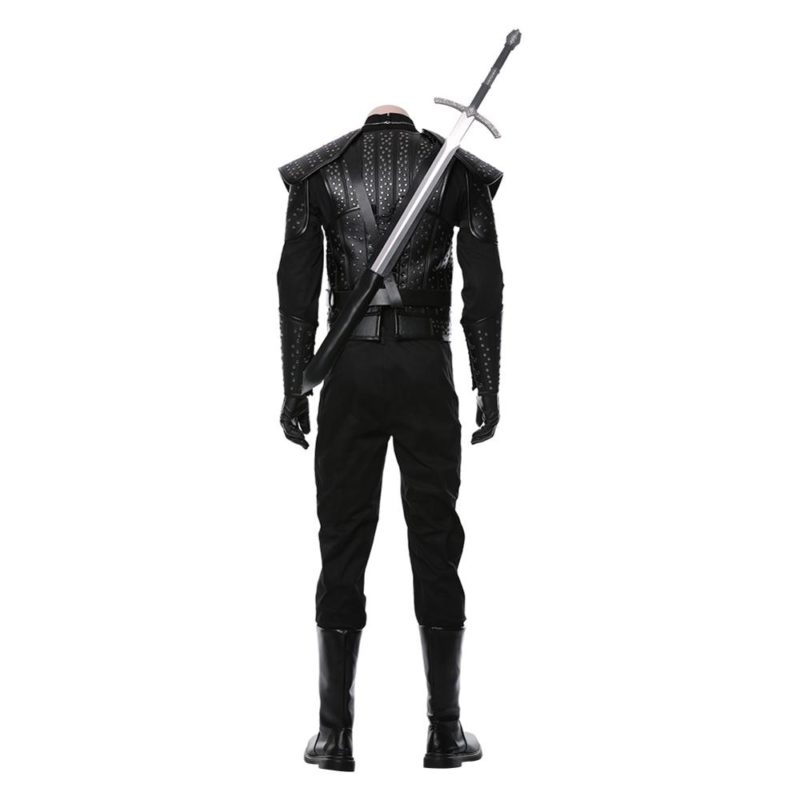 Fast Shipping Anime Geralt Cosplay Witch Costume women autumn winter clothes men coat Halloween Carnival Costume Christmas gift 3