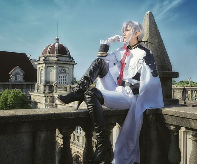 Owari no Seraph Seraph of the end Ferid Bathory Uniform Outfit Anime Cosplay Costumes with Ears 6
