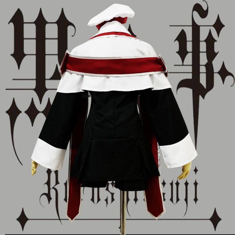 VEVEFHUANG Anime Black Butler Ciel Phantomhive Cosplay Costume choirboy cartoon Clothing Black Butler Ciel Phantomhive Church Ch 4