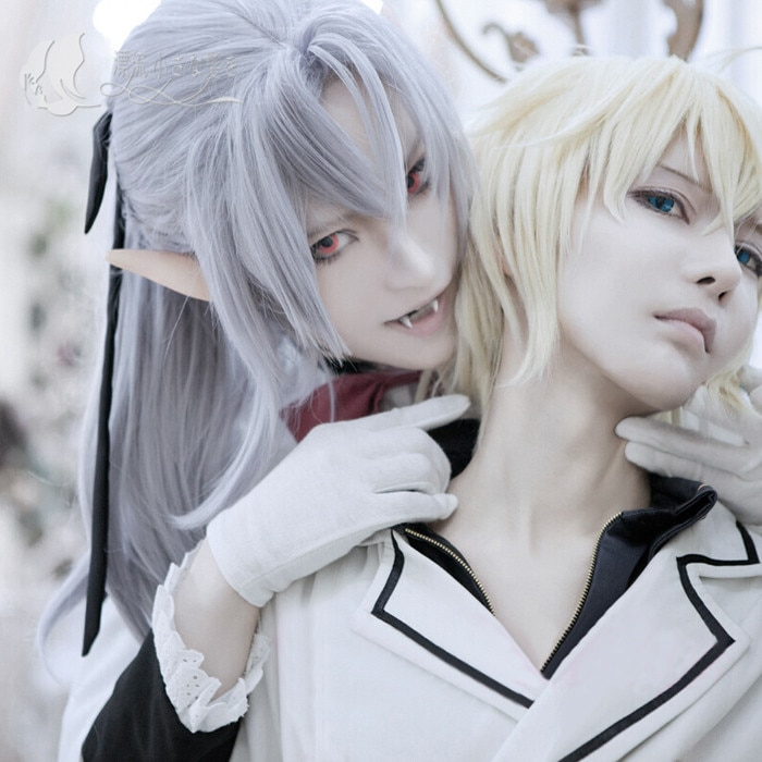 Owari no Seraph Seraph of the end Ferid Bathory Uniform Outfit Anime Cosplay Costumes with Ears 5
