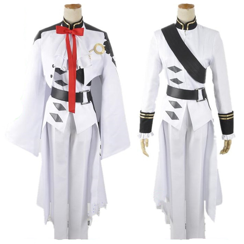 Owari no Seraph Seraph of the end Ferid Bathory Uniform Outfit Anime Cosplay Costumes with Ears 1