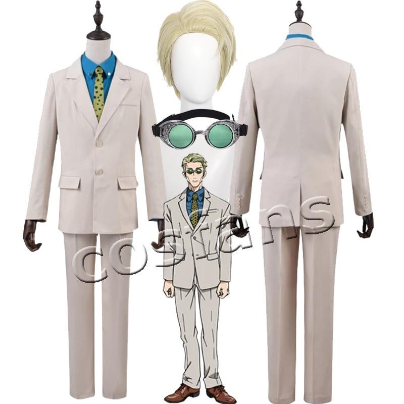 Jujutsu Kaisen Nanami Kento Cosplay Costume Suit Belt Glasses Nanami Kento Cosplay Short Hair Wig Halloween Xmas Party Uniforms 1