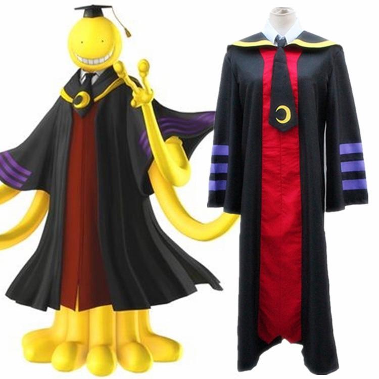 Anime Assassination Classroom Cosplay Costumes Koro Sensei Cosplay Costume Uniforms Halloween Party Game Ansatsu Kyoushitsu 1