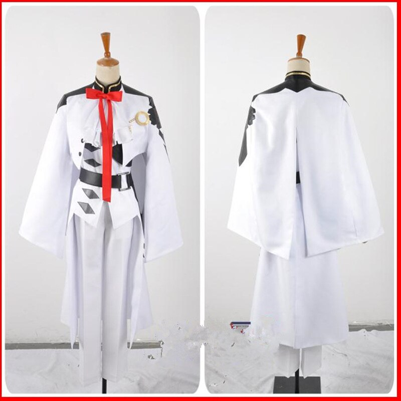 Owari no Seraph Seraph of the end Ferid Bathory Uniform Outfit Anime Cosplay Costumes with Ears 2