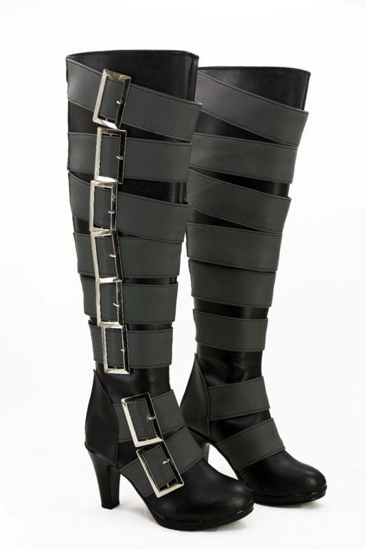 Anime Black Butler Kuroshitsuji Undertaker Cosplay Boots Shoes For Christmas Halloween Cosplay Love 3