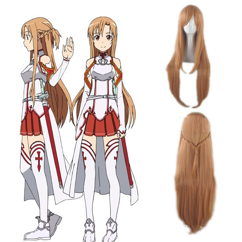 Sword Art Online Asuna Yuuki Cosplay Costumes Uniform for Halloween Party Costume SAO Asuna Battle Suit Outfits with Wig Shoes 4
