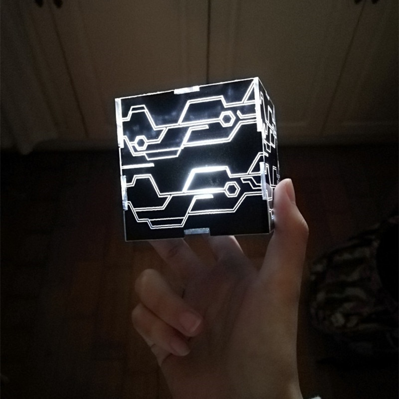 NieR Automata 9S 2B Cosplay Props White Light Black Box YoRHa No.9 Type S No.2 Type B Magic Cube 1