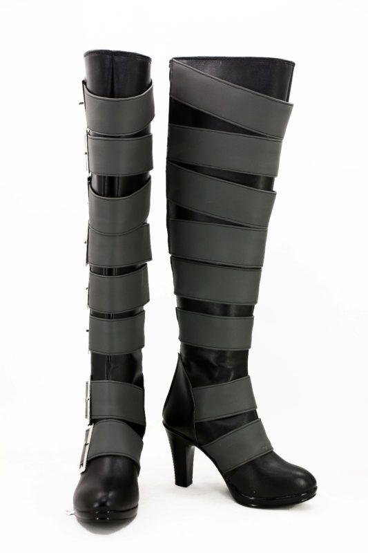 Anime Black Butler Kuroshitsuji Undertaker Cosplay Boots Shoes For Christmas Halloween Cosplay Love 2
