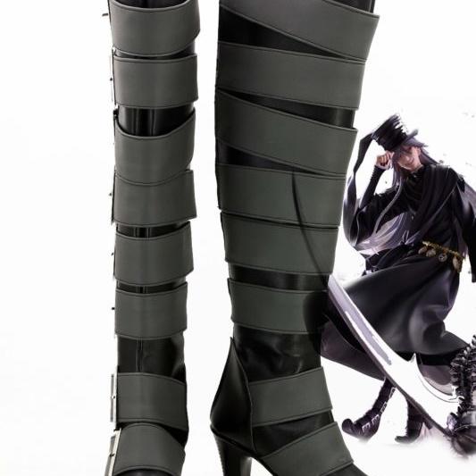Anime Black Butler Kuroshitsuji Undertaker Cosplay Boots Shoes For Christmas Halloween Cosplay Love 1