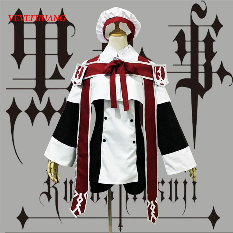 VEVEFHUANG Anime Black Butler Ciel Phantomhive Cosplay Costume choirboy cartoon Clothing Black Butler Ciel Phantomhive Church Ch 1
