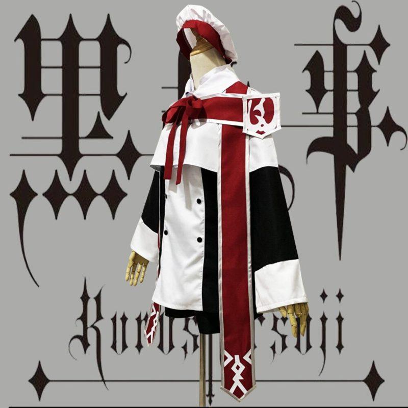 VEVEFHUANG Anime Black Butler Ciel Phantomhive Cosplay Costume choirboy cartoon Clothing Black Butler Ciel Phantomhive Church Ch 2