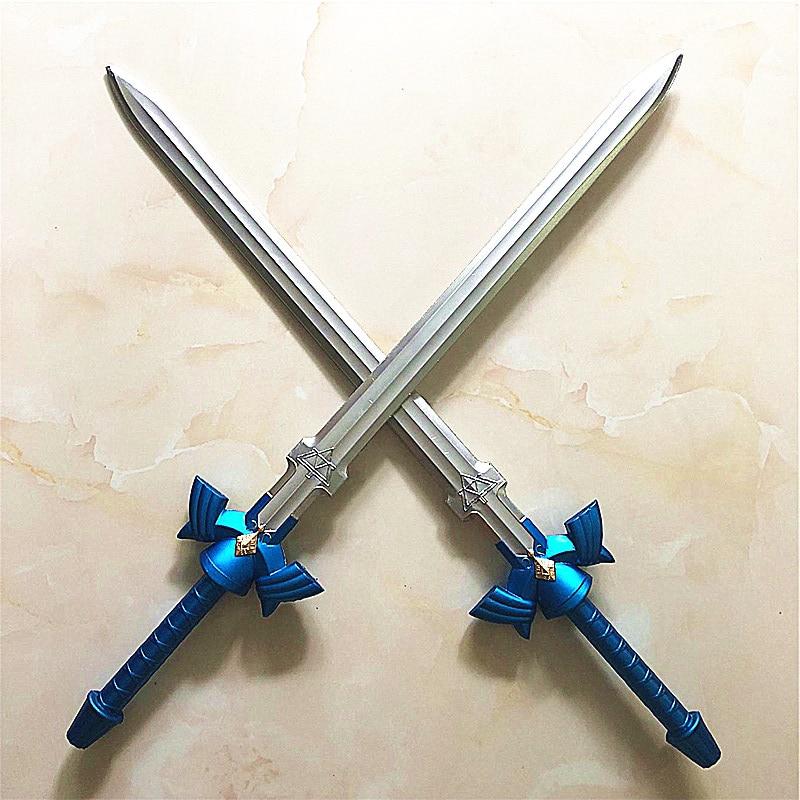1: 1 2 pcs / set skysword Cosplay Skyward Sword & Link Security Shield PLUTON Material Gun Sword Security PU Children 1