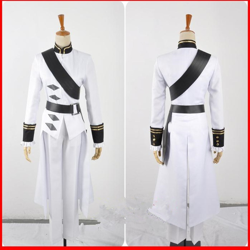 Owari no Seraph Seraph of the end Ferid Bathory Uniform Outfit Anime Cosplay Costumes with Ears 3