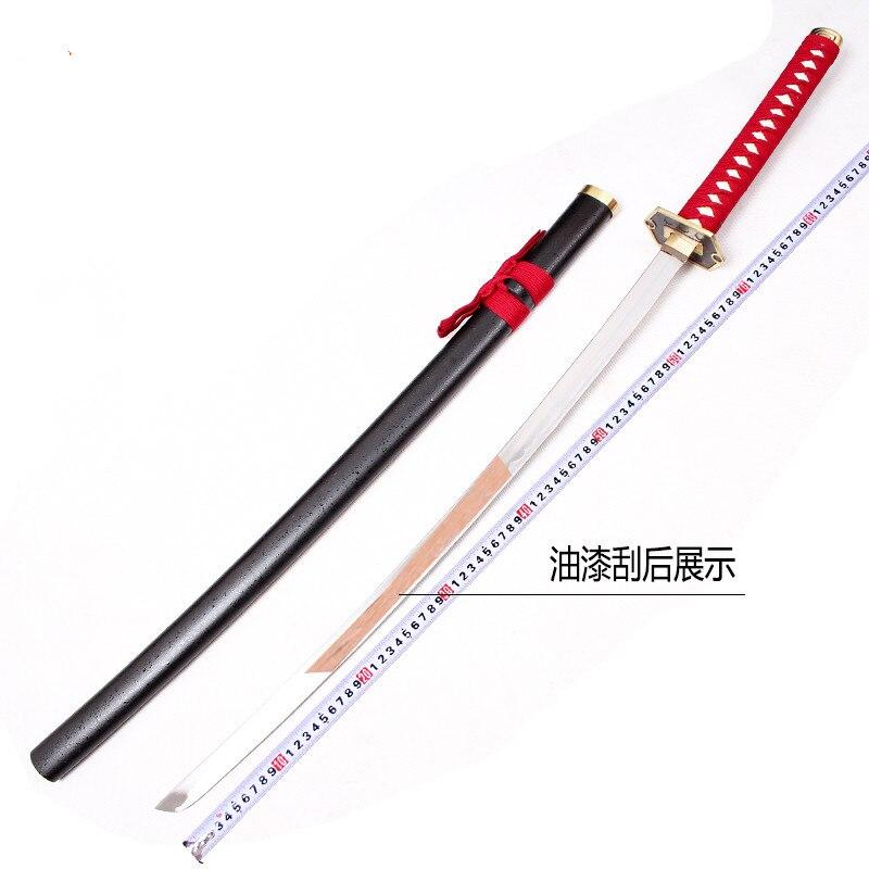 Bleach Hinamori Momo Katana Anime Bleach Cosplay Wooden Sword Knife Blade Weapon Cosplay Props Shipping Free Cosplay Decorative 2