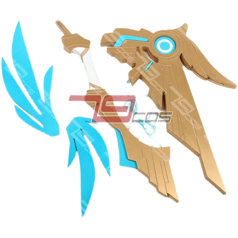 2021 Hot Game Genshin Impact Venti Cosplay Prop Bow The Wing Of Sky Props PVC Sword Xmas Costume Accessories Anime Shows 1